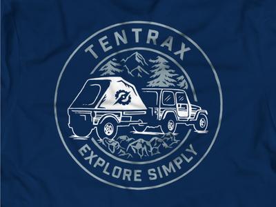 Tentrax Shirt Badge
