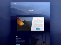 Mock Landing Page