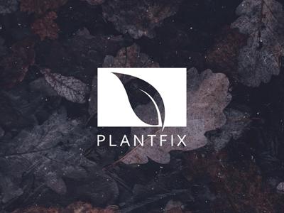 PLANTFIX - Minimalist Logo Design