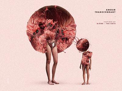 Amour Transcendent school project draw character digital art illustration