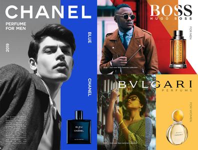 Perfume Shop Banner Concepts