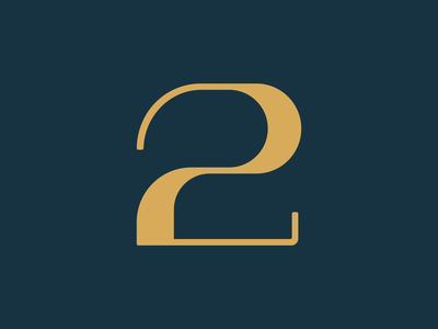 2 / 36 Days of Type 36 days of type 36daysoftype typeface 2 lettering number letter font type design typedesign type typography