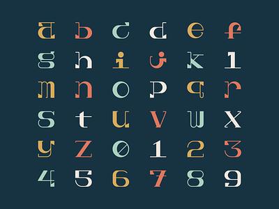 36 Days of Type 36daysoftype alphabet abc lettering number numbers letters typeface. lettering font typedesign type design typeface typography type