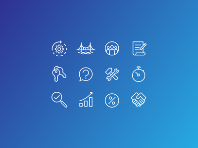 Line Icons icons flat simple graphic design vector branding design illustration icon