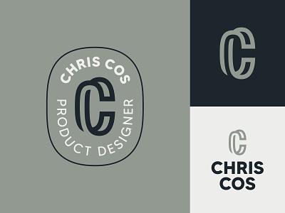 Chris Cos Logo Family identity cc c typography logo branding design illustration icon
