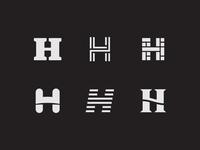 H Logo Exploration