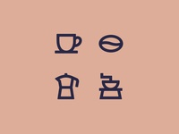 Coffee Icons pt. 2