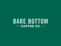 Bare Bottom Coffee Logo