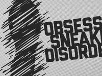 Obsessive Sneaker Disorder - logo system
