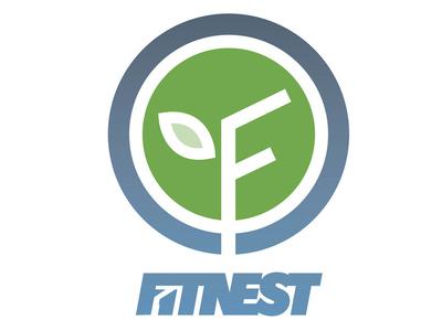 Fitnest - branding & identity design naming branding brand logo american ninja warrior anw fitness ninja