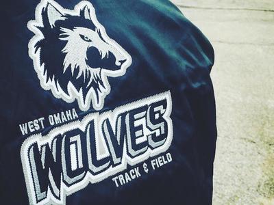 West Omaha Wolves Sports - branding & identity design identity logo brand branding sports wolves wolf