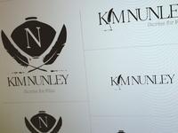Kim Nunley (screenwriter) - branding & identity design