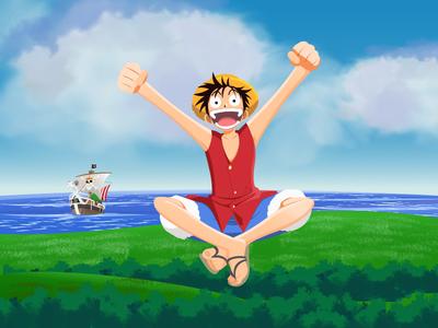 One Piece - Luffy, bis