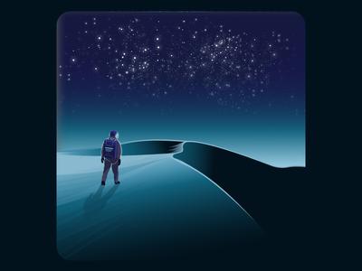 Wandering Astronaut