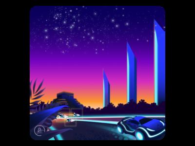 Concept Art - Racing Game