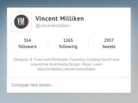 Twitter Interface - Live App