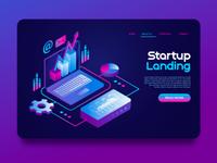 landing page landing page ui branding animation banner design web designer web design