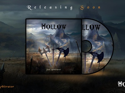 Hollow a new metal music release album cover artwork song music music art youtube banner itunes cover single illustration cover design album cover design spotify cover metal music album covers album cover art graphic design album cover