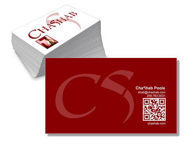 Chashab.com Business Cards business cards markappeal design marketing music