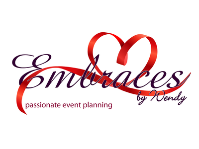 Embraces by Wendy logo event planning markappeal design marketing