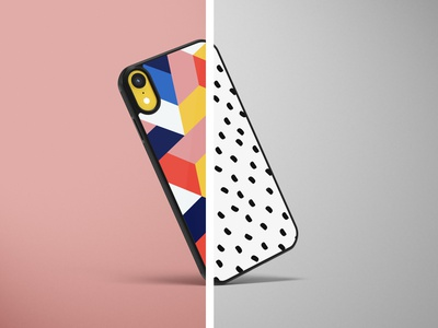 iPhone Case wireless charger band apple product art illustration design black and white abstract colorfull case phone picmycase