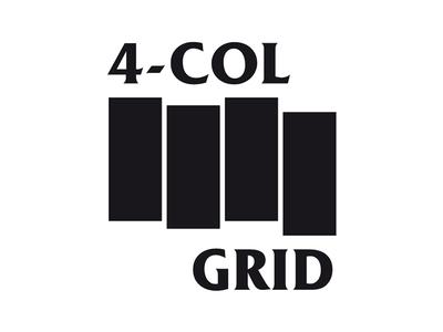 4 column grid