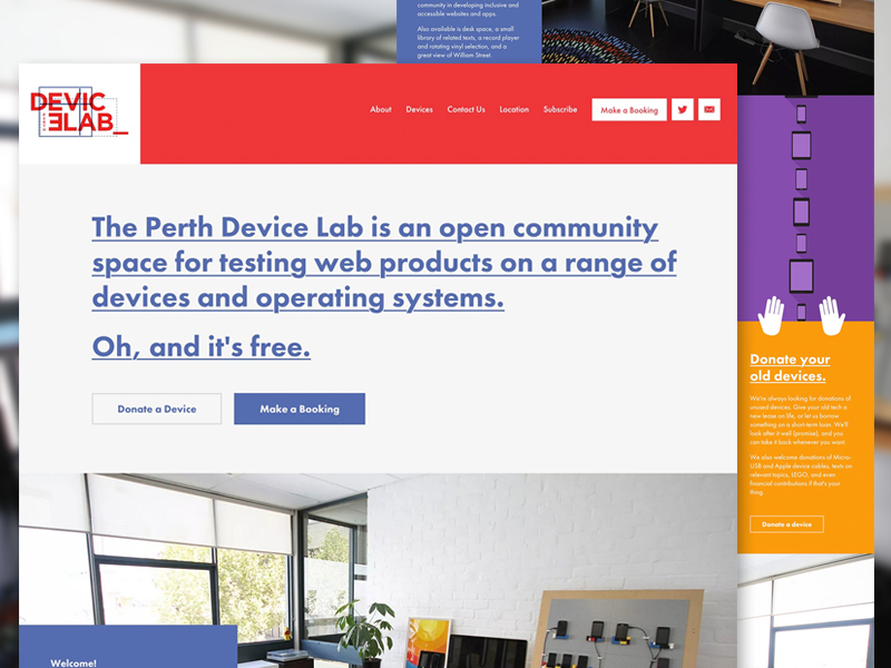 Dribbble Device Lab svg mobile first responive open device lab perth humaan odl