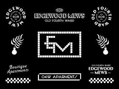 Edgewood Mew branding atlanta apartment