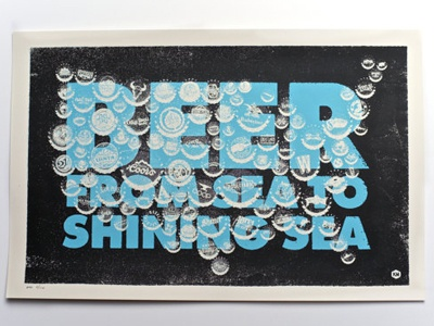 Beeeeeeer beer art print craft breweries