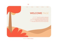 Landing Page for Website Illustration
