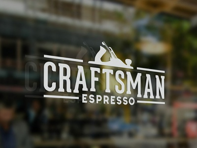 Craftsman Espresso Logo branding logo coffee shop asheville espresso coffee