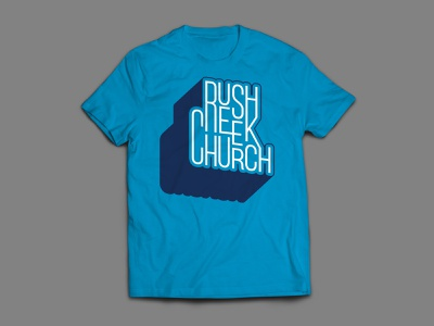 Rush Creek Shirt merch church shirt t shirt screenprint
