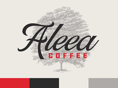 Aleea Coffee logo roaster coffee branding moldova chisinau
