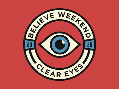 Clear Eyes Student Conference Badge