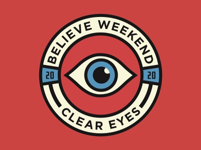 Clear Eyes Student Conference Badge optician sans eye badge student ministry youth group church hsm youth student dnow