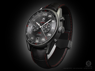 Tag Carerra Calibre 36 Flyback Chrono
