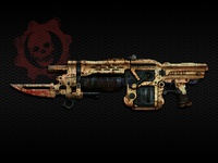 Gears of War Lancer