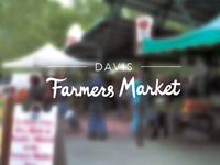 Davis Farmers Market Logo