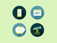 Website Manager Icons