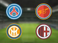 Football Club Logo Redesign