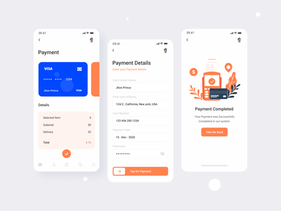 Food Delivery App concept foodie food delivery application payment details card payment food payment food app concept food services delivery service delivery app food delivery food and drink food app food website design design ui trend design 2020
