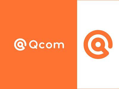 Qcom logo artology art qcom logobranding brand branding graphic design logos creative minimalist flat modern logodesign logo abstract q logo