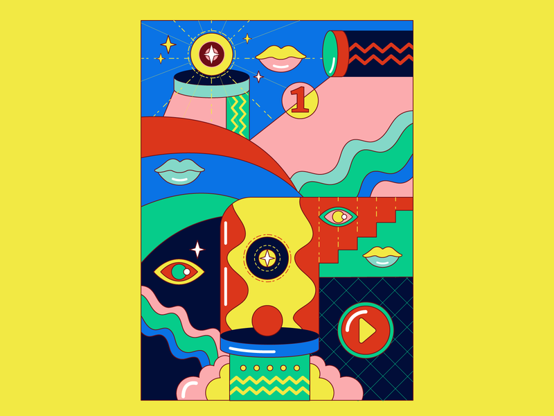 Hit maker graphic design design graphic vector illustrator contrast illustration art artwork illustration
