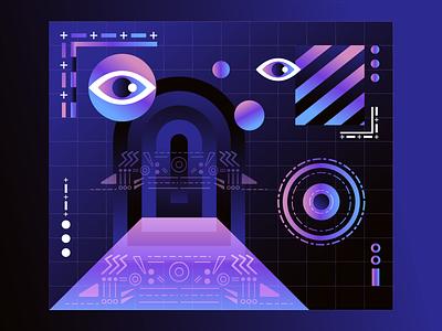 The Art of Invisibility illustrator graphic design design graphic contrast artwork illustration