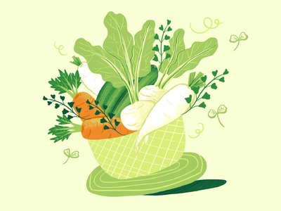 In Defense of Food food art artwork illustration