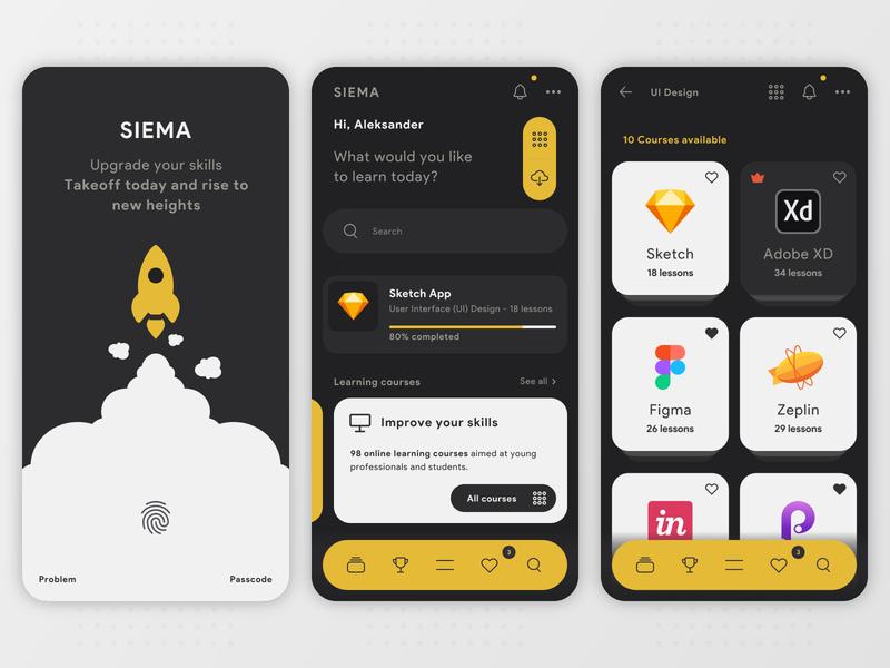 SIEMA - Educational Mobile App