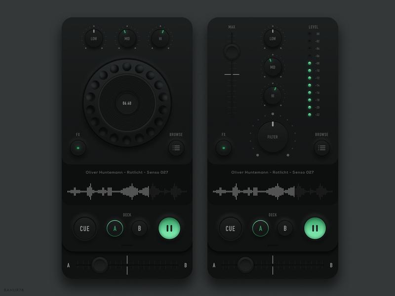 DJ Controller - Mobile App