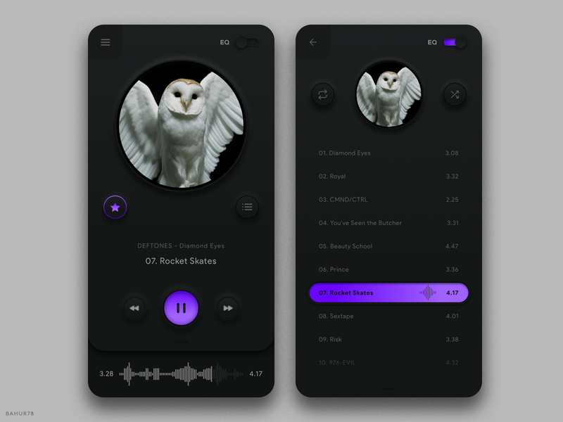 Music Player - Mobile App