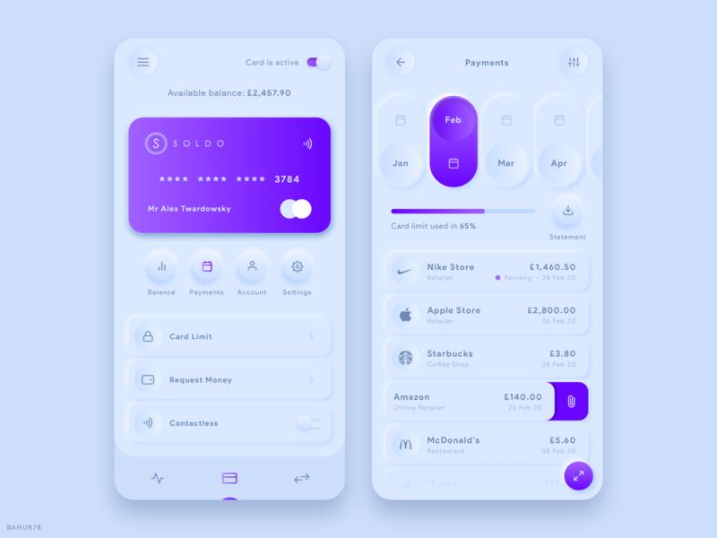 Soldo - Fintech App