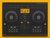 DJ Controller (Traktor Kontrol S2) - Concept